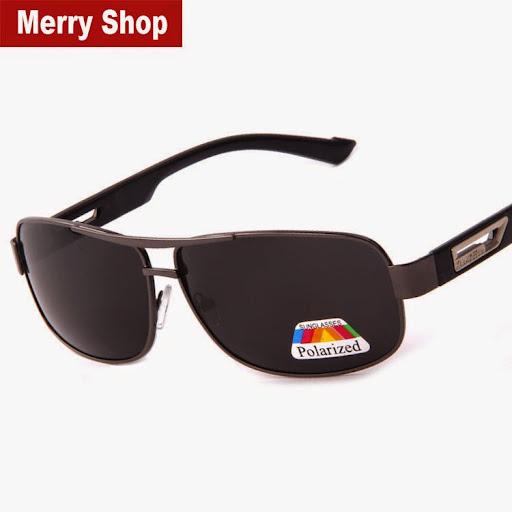 Men 100% Polarized Sunglasses Men Brand Mirror Driver D